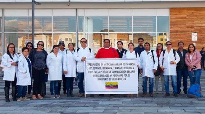 M�dicos especialistas de Pichincha, Santo Domingo, Imbabura y Manab�.