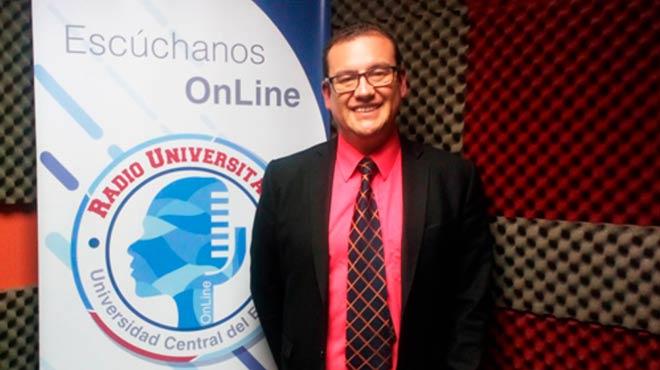 Juan Carlos Cazar, director de la carrera de Medicina de la UCE.