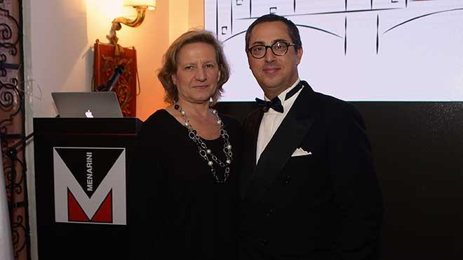 Caterina Bertolini, embajadora de Italia en Colombia y Michelantonio Bosso, Director de Menarini en Latinoam�rica.