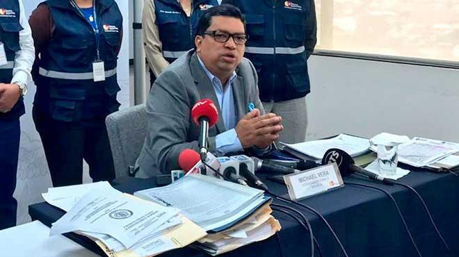 Michael Vera, coordinador Zonal 8 de Salud subrogante.