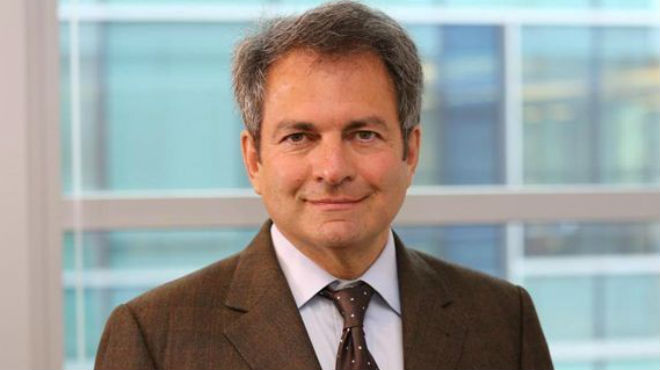 Michel Vounatsos, director ejecutivo de Biogen.