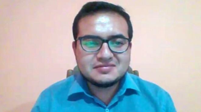 Miguel Ochoa, asistente de investigaci�n del Cenbio de la Universidad UTE.