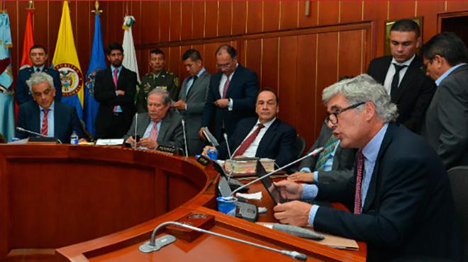 Juan Pablo Uribe, ministro de Salud de Colombia.