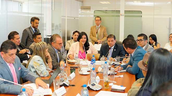 Catalina Andramu�o acudi� a la Comisi�n del Derecho a la Salud.