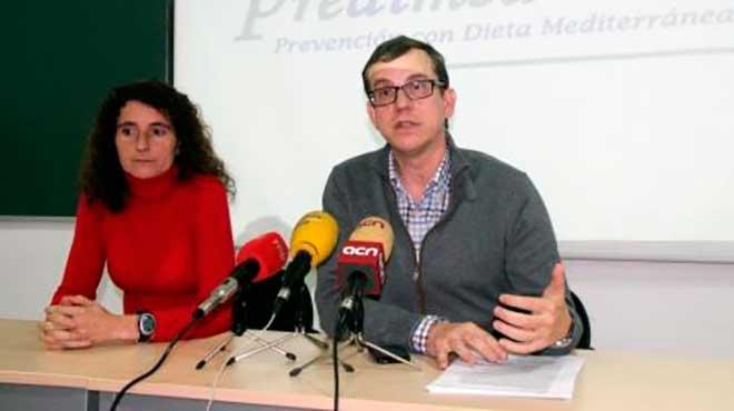 M�nica Bull� y Jordi Salas de la Universidad Rovira i Virgili
