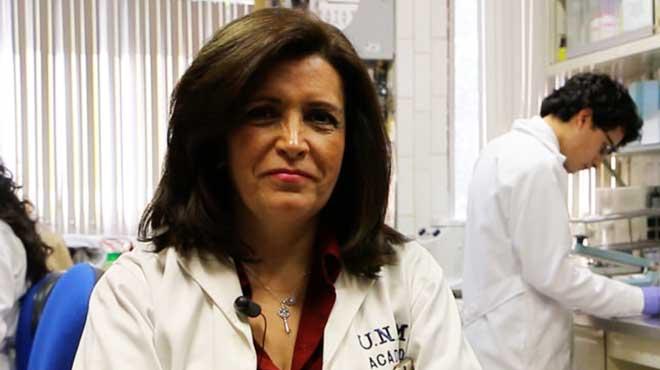 Norma Bobadilla Sandoval, cient�fica del Instituto de Investigaciones Biom�dicas de la UNAM.