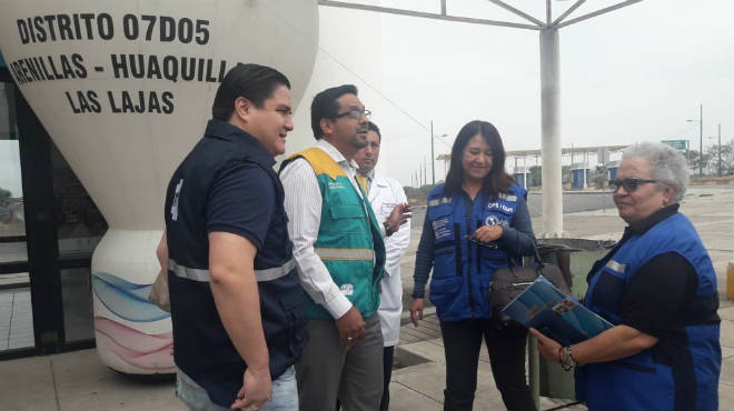Equipos t�cnicos de la OPS y del MSP han realizado una visita al Centro Binacional de Atenci�n en Frontera.