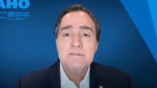 Jarbas Barbosa, subdirector de la OPS.