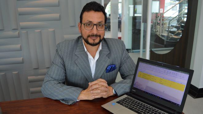 Alex Romero, gerente de Formaci�n Online de Editorial Oc�ano del Ecuador.