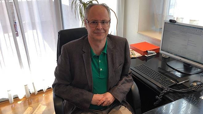Manuel L�pez Morandeira, director general corporativo del Grupo Editorial Oc�ano.