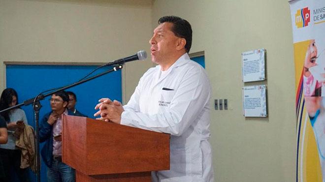 Oscar Chango, gerente del HVCM.