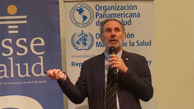 Pablo Dur�n, asesor regional en Salud Neonatal del CLAP de OPS.