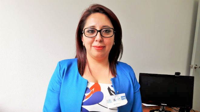 Paola V�lez, pediatra e investigadora ecuatoriana.