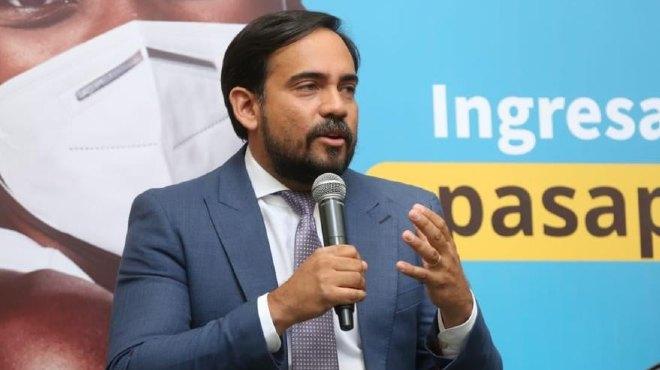 Eduardo Bonilla, secretario general de Comunicaci�n de la Presidencia.