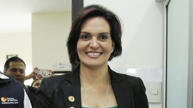Patricia Granja, viceministra de Atenci�n Integral en Salud
