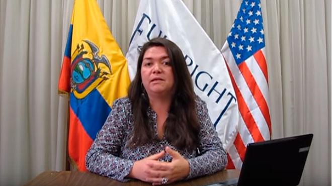 Patricia Ricle, asesora educativa de la Comisi�n Fulbright.