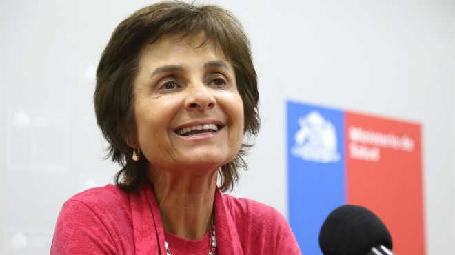 Paula Daza, subsecretaria de Salud P�blica.