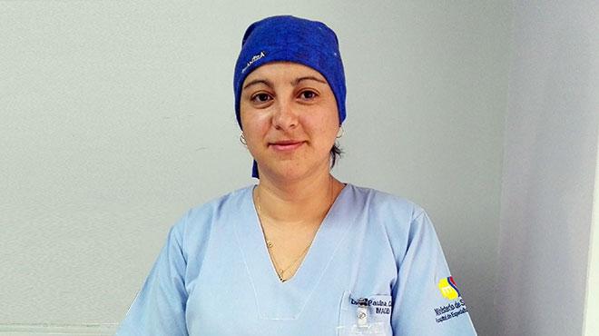 Paulina Cisneros, especialista del Hospital Enrique Garc�s.