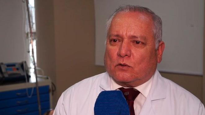 Pedro Barber�n, decano de la Facultad de Medicina de la UEES.