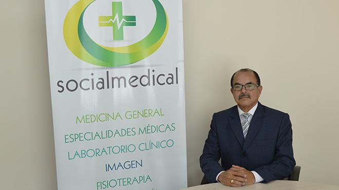 Pedro Santiana Acosta, presidente Socialdental - Socialmedical.