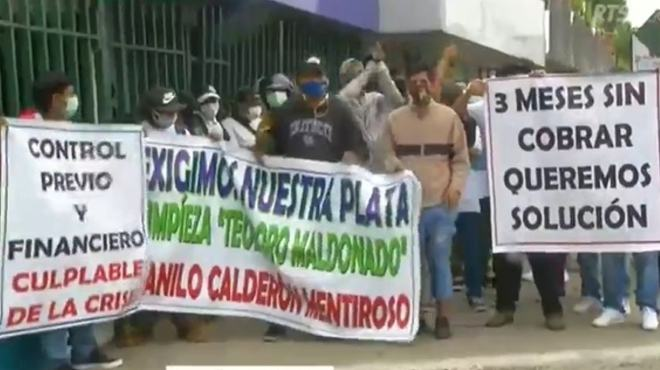 Plant�n en Guayaquil.