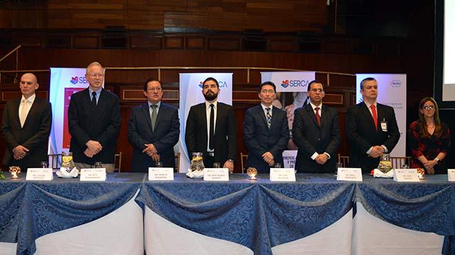 Col�n Arteaga, Roy Ringenberg, Marco Pes�ntez, Raif Nasre Nasser, Luis Villegas, Pa�l Carrasco, Luis Vargas y Liliana C�rdenas.