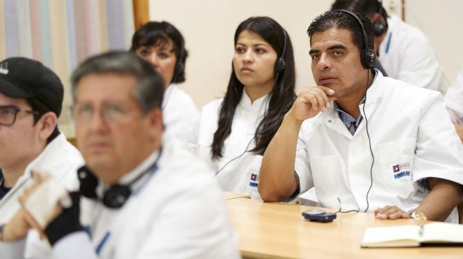 Los m�dicos ecuatorianos consolidaron sus conocimientos t�cnicos cient�ficos.
