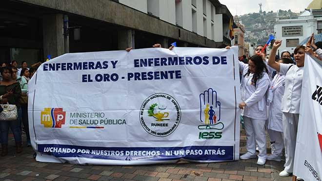 Profesionales de Enfermer�a de El Oro.