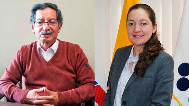 Ra�l Ter�n (UCE) y Yuridia Torres (ARCSA)