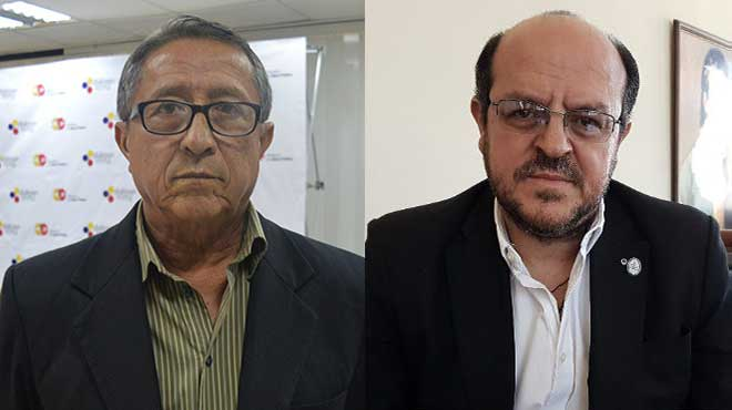Renner Farf�n y Santiago Carrasco.