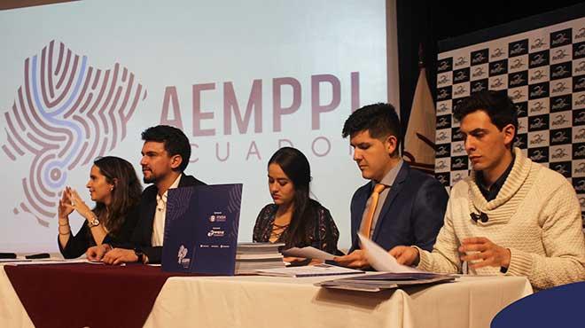 Directivos de Aemppi Ecuador.