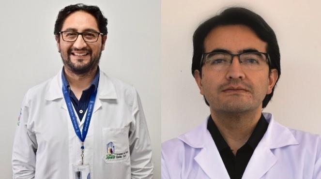 Jorge Reyes y Daniel Garz�n.