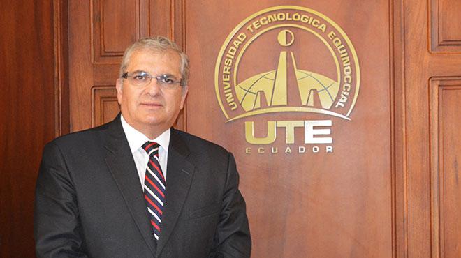 Ricardo Hidalgo, rector de la UTE.