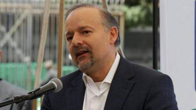Richard Espinosa, presidente del consejo directivo del IESS.
