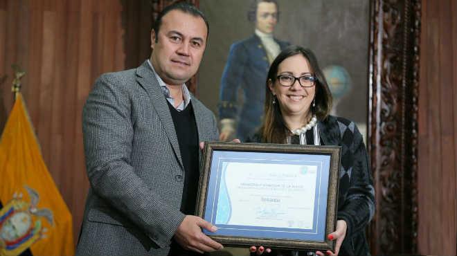 Certificación Riobamba