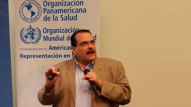 Roberto Salvatella, asesor regional de la Enfermedad de Chagas de OPS.