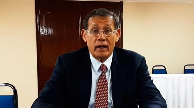 Roberto Badar�, subsecretario de Salud del Estado de Bah�a.