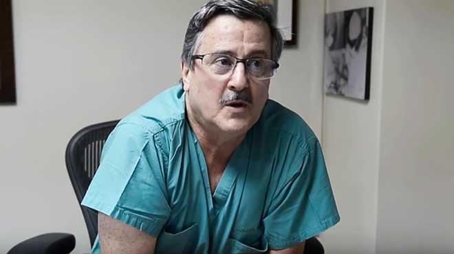 Roberto Gilbert, director de la Cl�nica Guayaquil