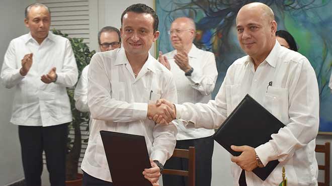 Mikel Arriola y Roberto Morales Ojeda