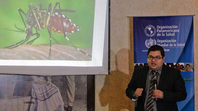 Rolando Masis, Ministerio de Salud de El Salvador.