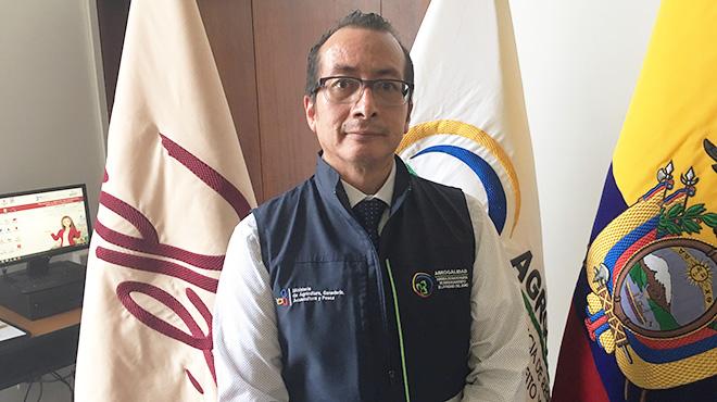 Rommel Betancourt, coordinador de inocuidad de Agrocalidad.