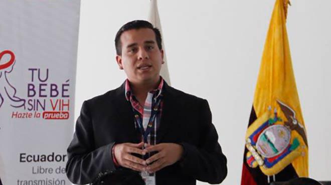 Ronald Cede�o, director de Estrategias de Prevenci�n y Control del MSP.