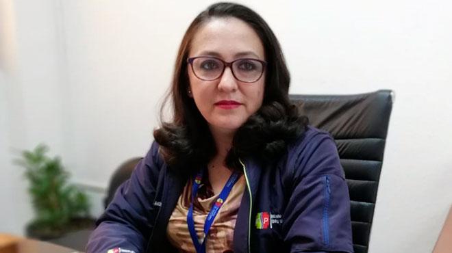 Rosana Moscoso, directora del Distrito 01D02 Cuenca-Sur de la Zona 6 de Salud.