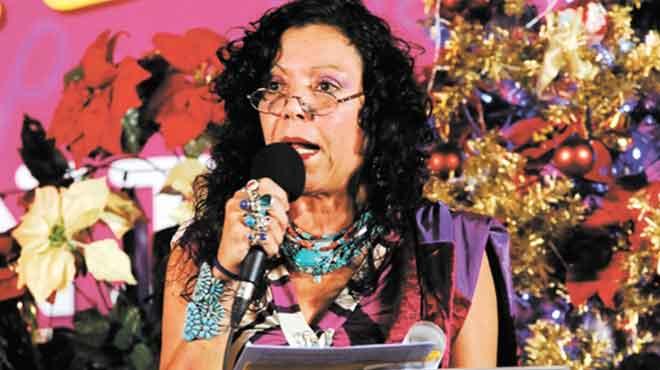 Rosario Murillo, vicepresidenta de Nicaragua