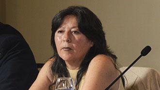 Ruth Lucio, coordinadora general de Desarrollo Estrat�gico en Salud del MSP.
