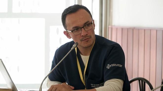 Santiago Z��iga Ojeda, presidente de la SEMP.