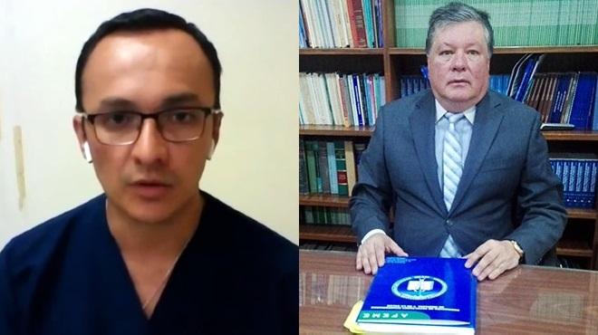 Santiago Z��iga, presidente de la ASEMP, y Leonardo Bravo, director ejecutivo de AFEME.