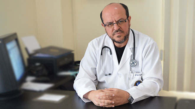 Santiago Carrasco, presidente del CMP