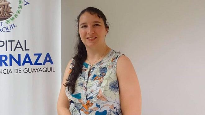 Sara Simmons, especialista en prevenci�n y control de infecciones.