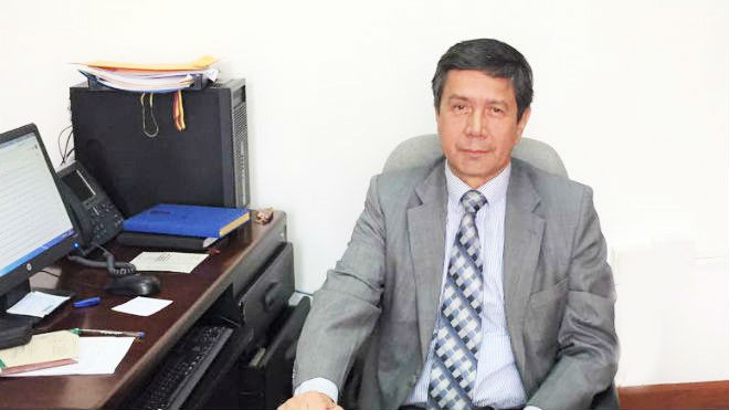 Sergio Guevara, decano de la Facultad de Medicina
